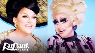 The Pit Stop S13 E11 | Trixie Mattel & BenDeLaCreme Pop Off! | RuPaul's Drag Race