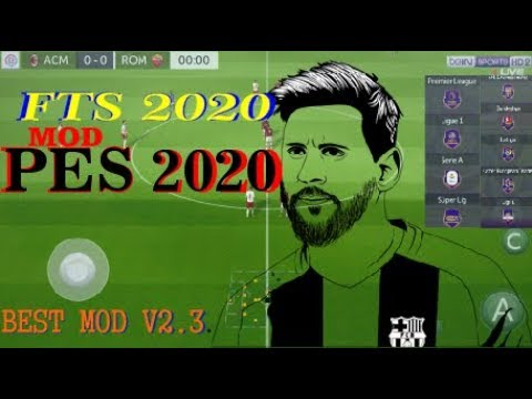 Best Mods 2020.Fts Mod Pes 2020 Update Transfers And Kits Best Mod Youtube