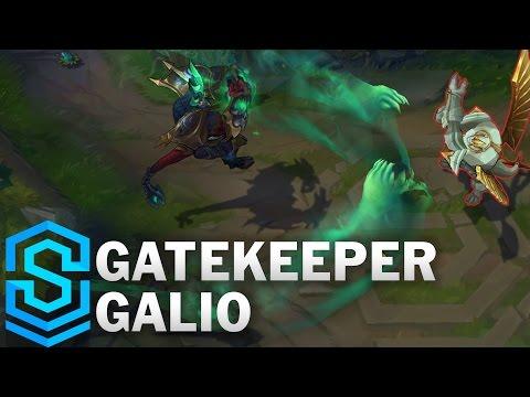 Gatekeeper Galio (2017 Rework) Skin Spotlight - Pre-Release - League of Legends
