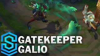 Gatekeeper Galio (2017 Rework) Skin Spotlight - Pre-Release - League of Legends
