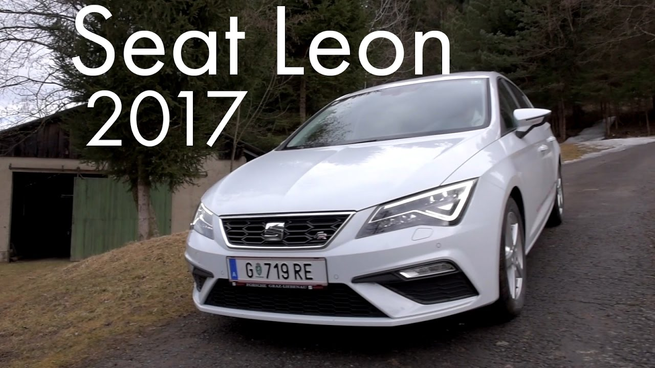 seat leon 2017 youtube. Black Bedroom Furniture Sets. Home Design Ideas