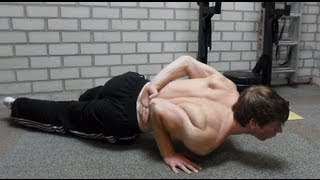 One Handed Push Up Tutorial