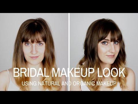 Bridal Look Using Natural and Organic Makeup | Glow Organic
