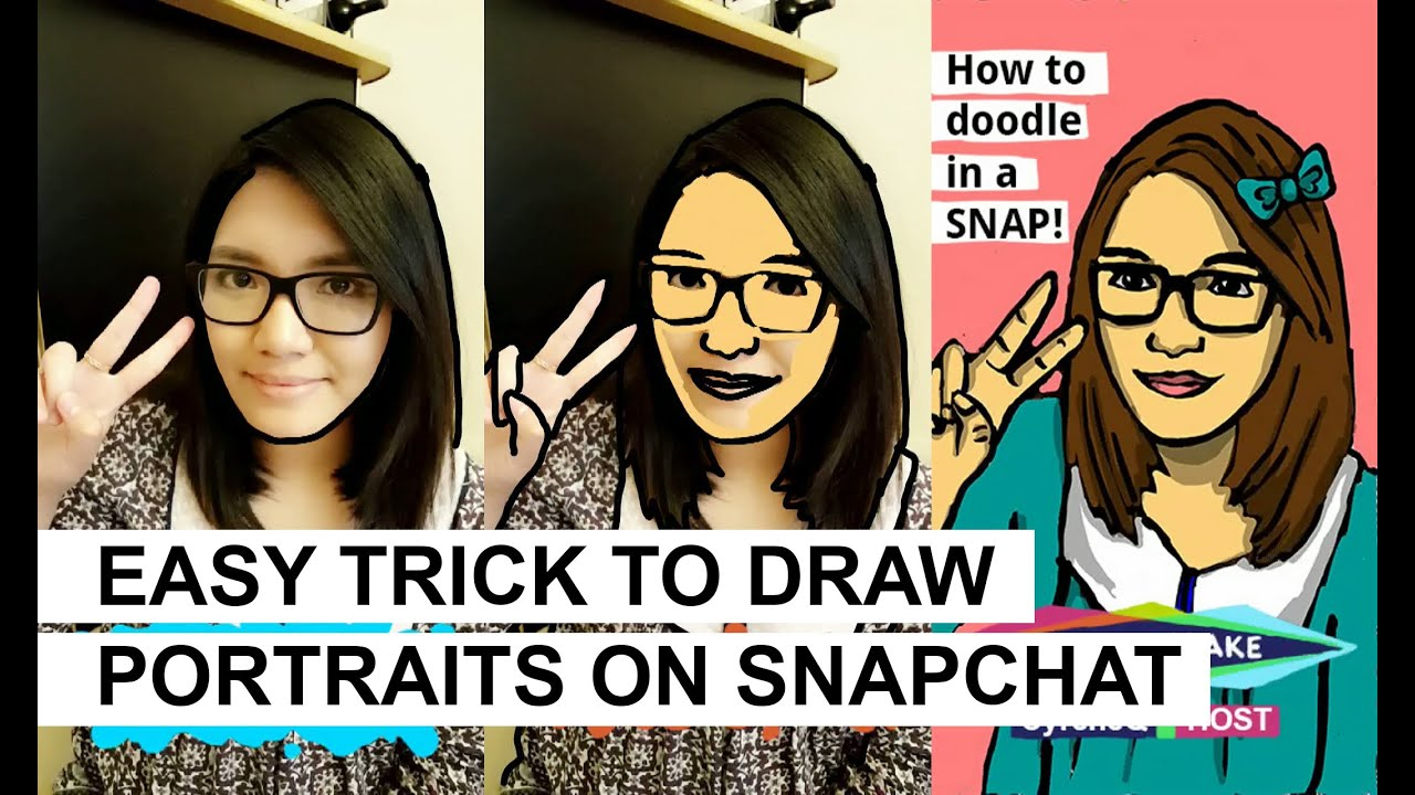 how to draw a cigarette on snapchat