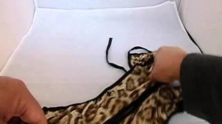 とてもセクシー 人気の豹柄 キャミランジェリーのご紹介です。ヒョウ柄...