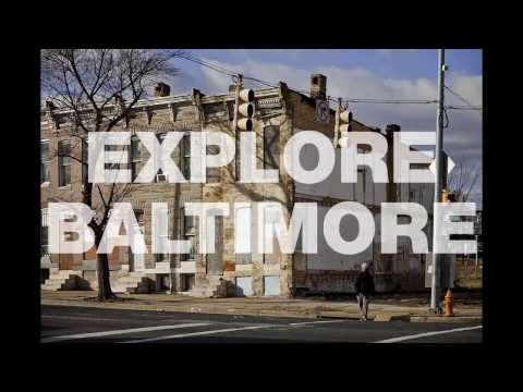 Explore Baltimore 001: Graffiti and a Dead Mall.