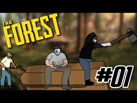 L'INCROYABLE CHARIOT AMPHIBIE ! - The Forest #01