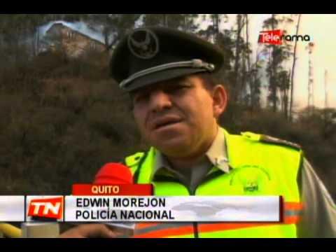 3 presuntos detenidos por causar incendio en cerro Auqui