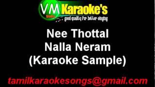 Nee Thottal Karaoke Nalla Neram