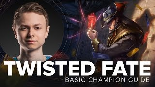 Twisted Fate MID guide by Cloud9 Incarnati0n - Season 5 | League of Legends