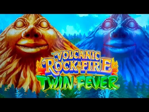 Volcanic Rock Fire Twin Fever Slot - GREAT SESSION, ALL FEATURES!
