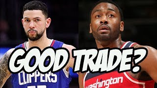 Why Austin Rivers Can Actually Help The Wizards | NBA Trades 2018
