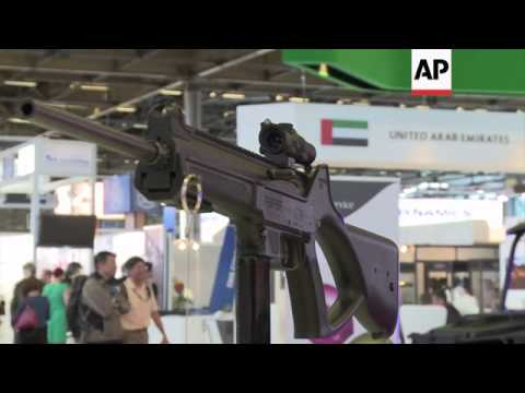 Middle East interest at international Defence and Security Exhibition