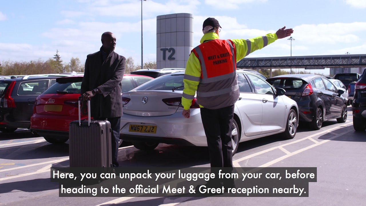 Meet Greet Parking At Manchester Airport Youtube
