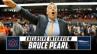 Auburn Head Coach Bruce Pearl Discusses His Team's Season | Stadium