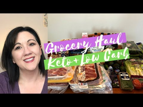 Weekly Keto Grocery Haul + Meal Plan | Journey To Healthy