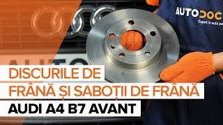 Întreținere Audi A4 b6 - tutoriale video gratuit