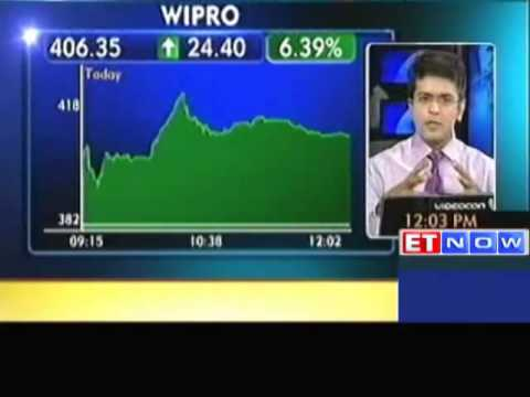 Market Update : Wipro, L&T, Natco Pharma Up