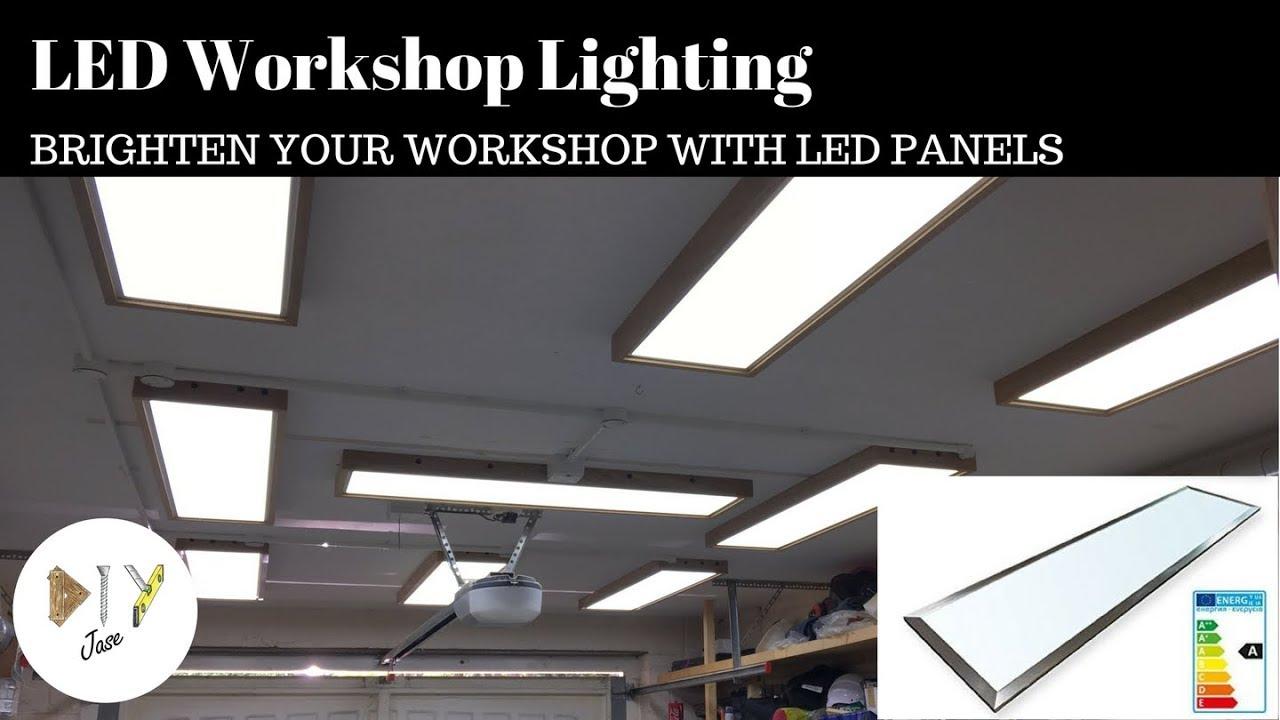 Led Work Garage Lighting With