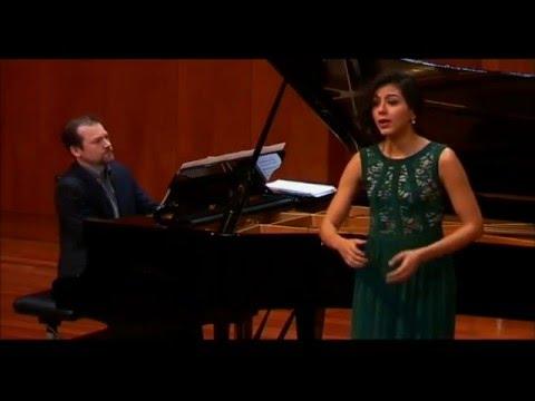 Mariana Isaza: Après un rêve Trois mélodies, Op 7  G Fauré