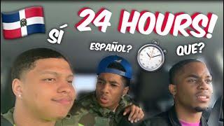 SPEAKING SPANISH FOR 24 HOURS!!