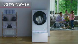 Única en lavar dos cargas simultáneamente | Lavadora LG TWINWash
