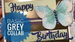 Bringing Back Basic Grey - Sister's Birthday Card