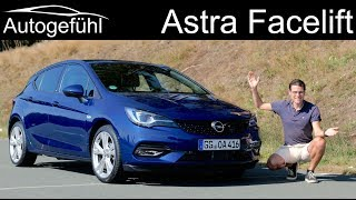 New Opel Astra Facelift FULL Review 2020 Vauxhall Astra - Autogefühl