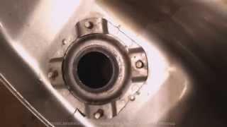 видео Как очистить бак мотоцикла от ржавчины