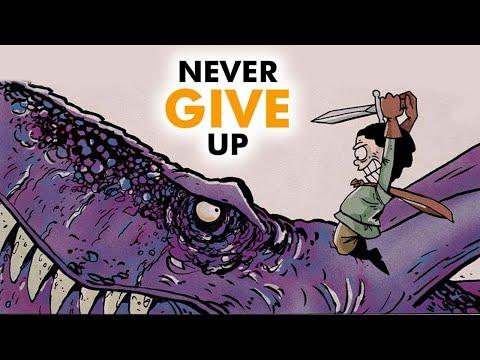 CALVIN COOLIDGE: Never give up - Zen Pencils