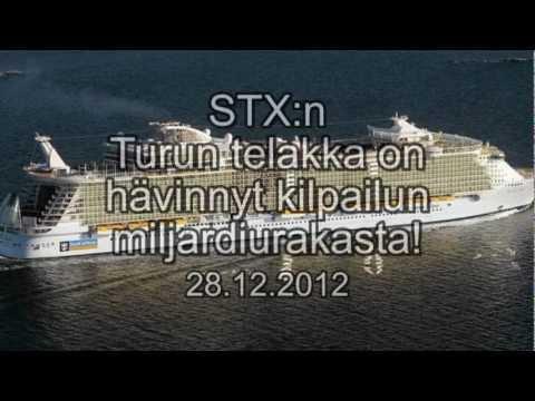STX:n Turun telakka on hävinnyt kilpailun miljardiurakasta!!!