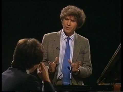 Andrei Gavrilov talks and plays Prokofiev part 1