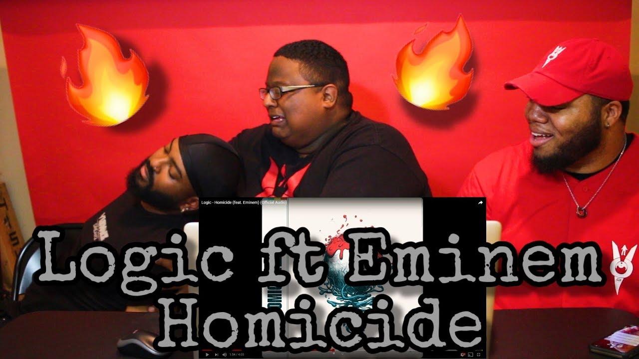 Download Logic - Homicide (feat. Eminem) (Official Audio) REACTION 🔥