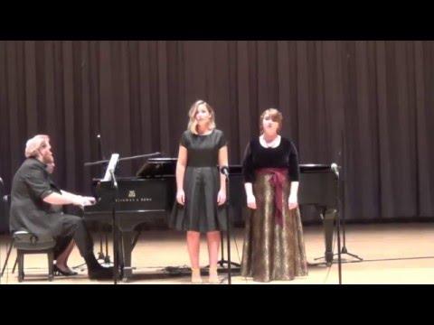 Lakme Flower Duet, Olivia Robinson and Heidi Robinson