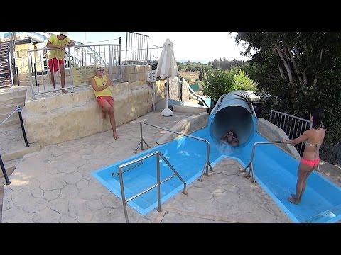 Twister Water Slide at Aphrodite Waterpark