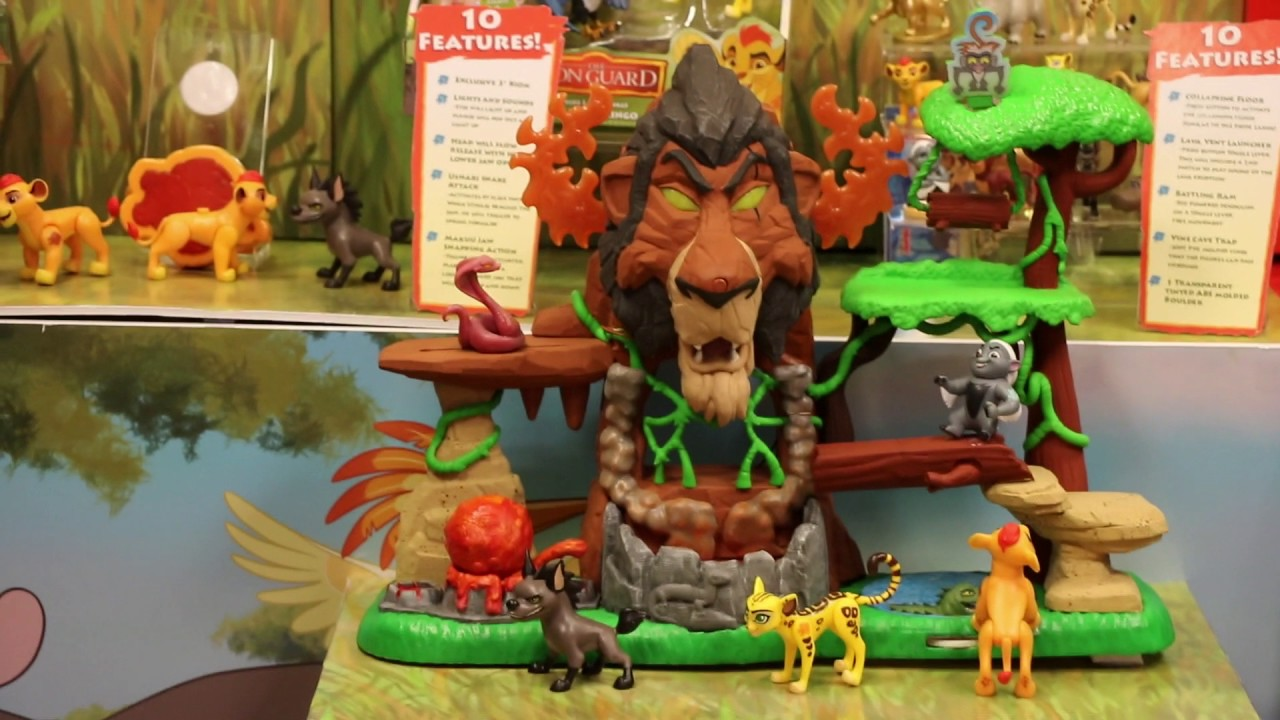 New Lion Guard Toys from Just Play at Toy Fair 2017 - YouTube
