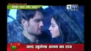 Pyaar Kii Ye Ek Kahaani on SBS 11th january 2011 Abhay aur Piya Ka Romance