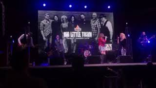 Big Little Town tribute performs Boondocks cover at Lava Cantina in the Colony, Texas.