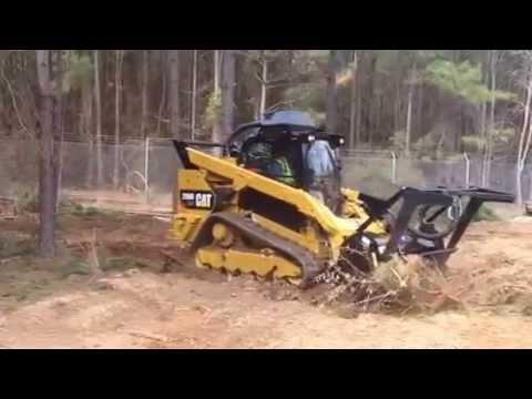 CAT 299D XHP Mulching by Kurt Hardison