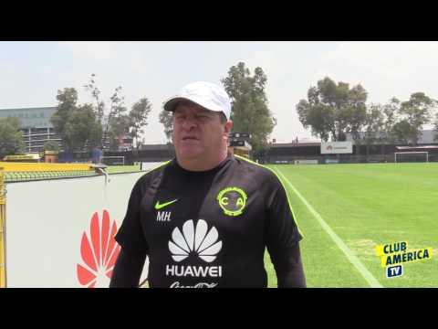 Miguel Herrera y los nuevos refuerzos de Club América