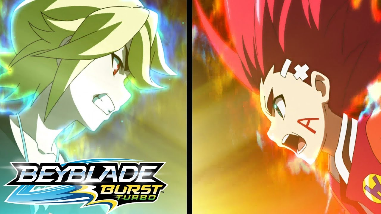 BEYBLADE BURST TURBO Episode 2: Achilles Vs Forneus