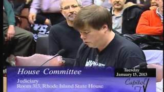 Gambar cover 2013-01-15 RI House Marriage Equality Testimony 081 Steve Ahlquist