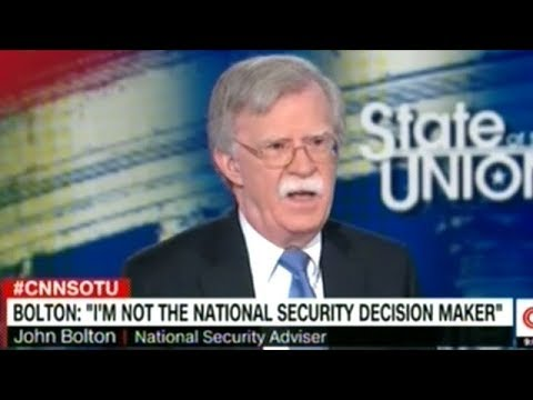 """John Bolton Blames IRAN For """"The Instability In The Region"""" NOT PNAC!"""