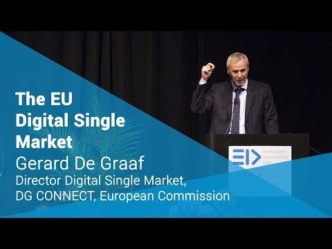 The EU Digital Single Market - Gerard De Graaf | European Innovation Day 2017