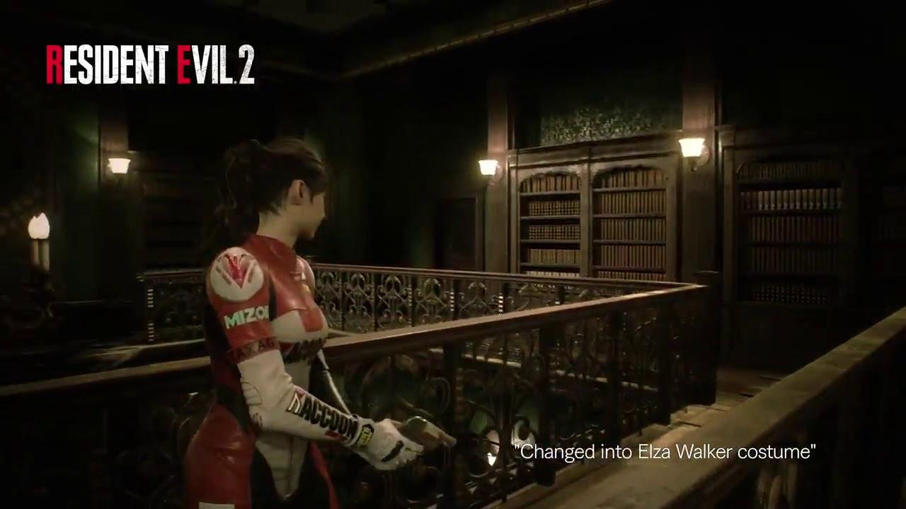 Resident Evil 2 Remake Costume Elza Walker De Claire Redfield