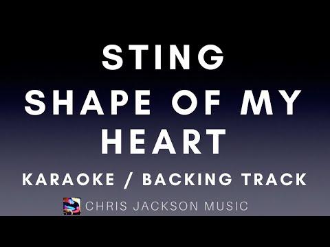 Sting - Shape Of My Heart Backing Track / Karaoke FREE