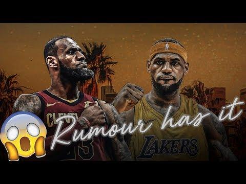 LeBron James' Friend Hinting LeBron signing with Lakers? | 2017-18 NBA Season ULTIMATE Mixtape