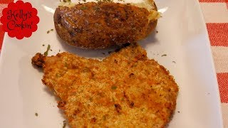 Air Fried Breaded Pork Chops Recipe-Cook's Essential Air Fryer