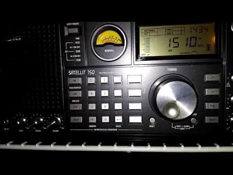 AM/MW DX Of 1510 WMEX On 1510 KHz From Boston, Massachusetts, USA