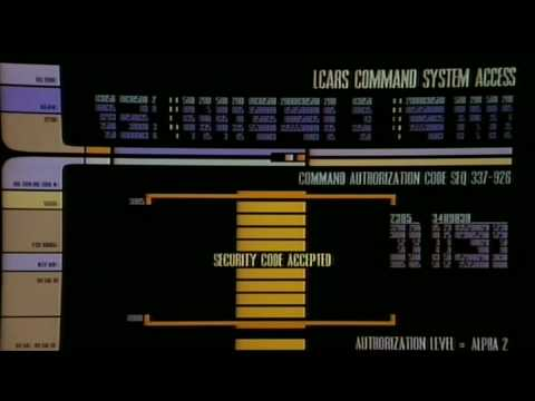 How do Star Trek command codes secure anything? - Science